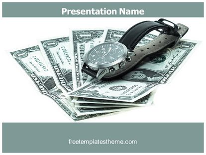Free time is money powerpoint template freetemplatestheme slide1g toneelgroepblik Choice Image