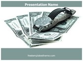 Free Time is Money PowerPoint Template Background, FreeTemplatesTheme