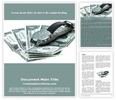 Free Time is Money Word Template Background, FreeTemplatesTheme
