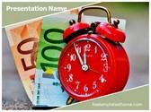 Free Time Money PowerPoint Template Background, FreeTemplatesTheme