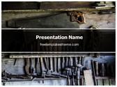 Free Tools PowerPoint Template Background, FreeTemplatesTheme