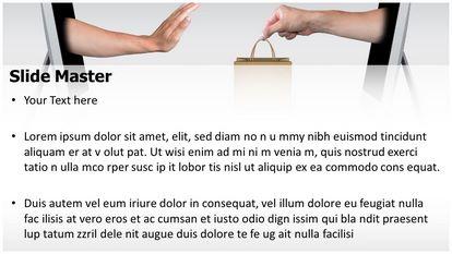 Free unhappy online shopping powerpoint template slide1g slide2g toneelgroepblik Choice Image