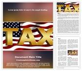 Free USA Tax Word Template Background, FreeTemplatesTheme