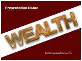 Free Wealth PowerPoint Template Background, FreeTemplatesTheme