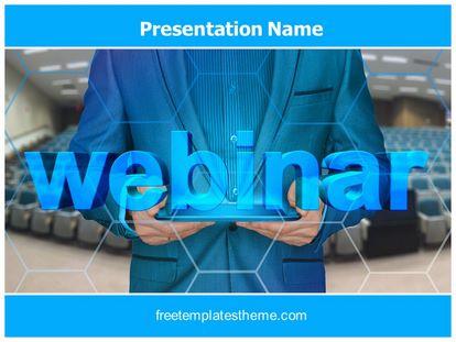 Free Webinar PowerPoint Template | freetemplatestheme.com