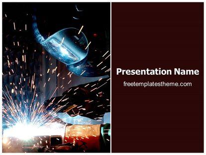 Free welding powerpoint template freetemplatestheme slide1g toneelgroepblik Images