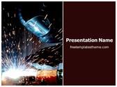 Free Welding PowerPoint Template Background, FreeTemplatesTheme