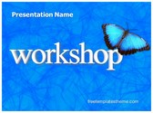 Free Workshop PowerPoint Template Background, FreeTemplatesTheme