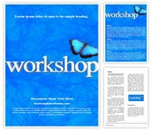 Free Workshop Word Template Background, FreeTemplatesTheme